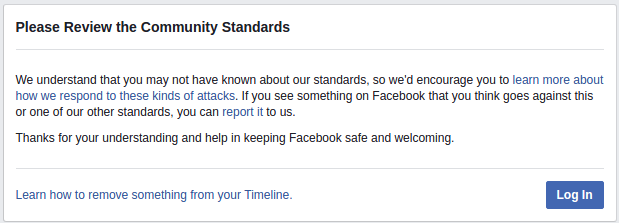 FB-Censorship